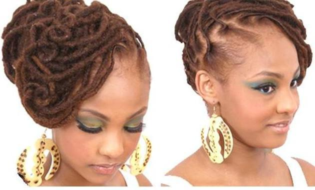 Updo, Natural, Curls, Dreads, Locs, Dreadlocks