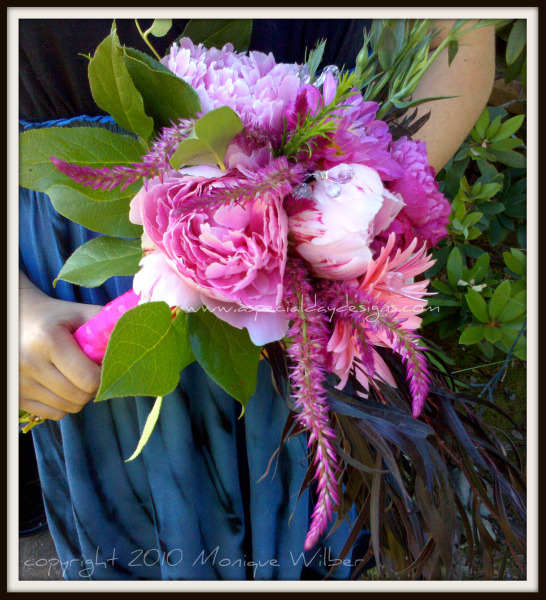 Flowers & Decor, pink, Bride Bouquets, Glam, Flowers, Glam Wedding Flowers & Decor, Bouquet, Wedding, Peonies, Lake, Tahoe, Sacramento, Florist, Dahlia, Eco, Placerville, Veronica