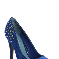 Shoes, Fashion, blue, Something blue, Studded
