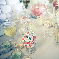 Inspiration, Reception, Flowers & Decor, white, yellow, orange, pink, red, green, Candy, Board, Jars, candy bar, Apothecary jars