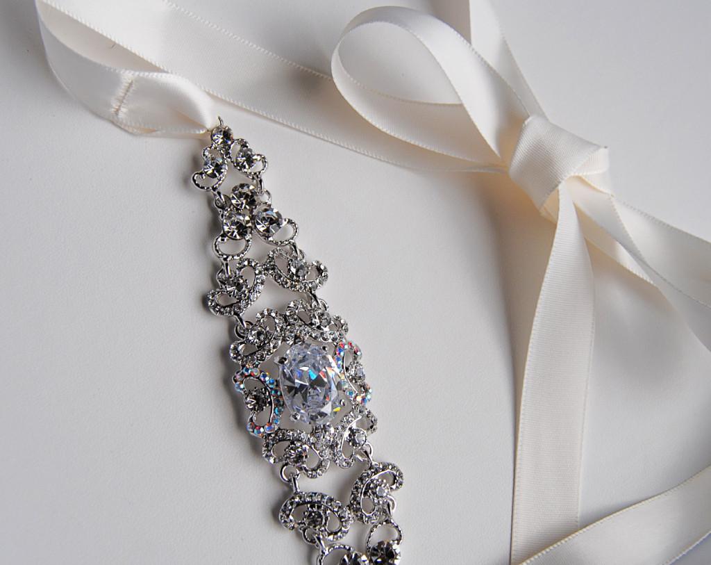 Beauty, Jewelry, white, silver, Headbands, Ribbon, Headband