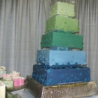 Cakes, purple, green, cake
