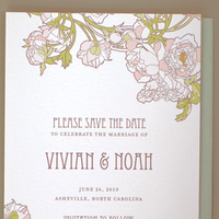 Stationery, Invitations, Save-the-Dates, Save the date, Hello lucky