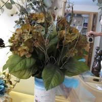 Reception, Flowers & Decor, blue, brown, Centerpieces, Flowers