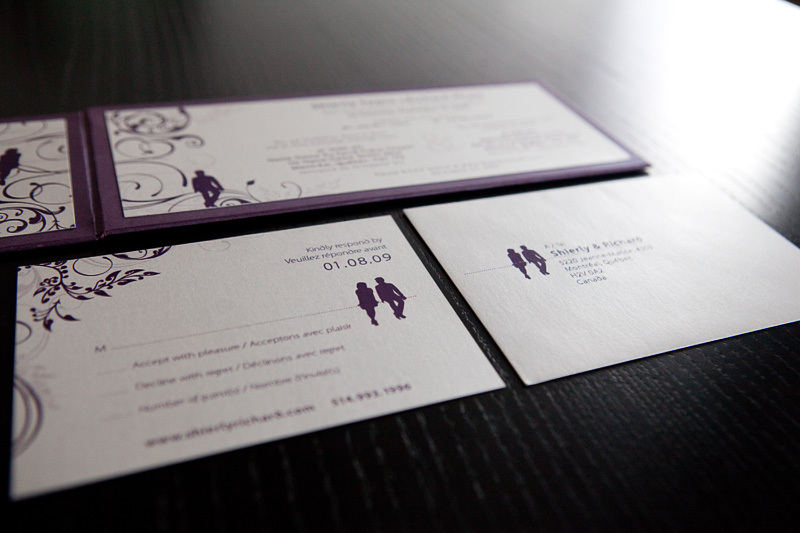 Stationery, purple, silver, invitation, Invitations, Wedding, Custom invitation, Unique invitation, Purplest, Customized invitation