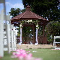 Ceremony, Flowers & Decor, Ceremony Flowers, Aisle Decor, Flowers, Gazebo, Petals, Aisle