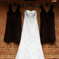 Bridesmaids Dresses, Wedding Dresses, Lace Wedding Dresses, Fashion, white, brown, dress, Bridesmaid, Lace