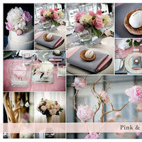 Inspiration, pink, black, silver, Board