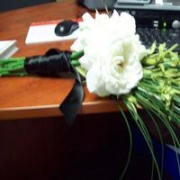 Flowers & Decor, white, green, black, Bride Bouquets, Flowers, Bouquet