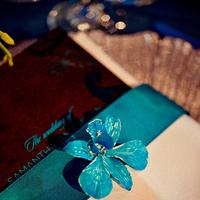Inspiration, white, blue, silver, Board