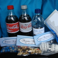 Favors & Gifts, blue, silver, Favors, Gifts, Bags, Hotel