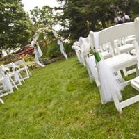 Ceremony, Flowers & Decor, green, silver, Ceremony Flowers, Flowers