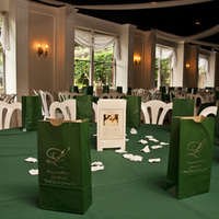 Reception, Flowers & Decor, green