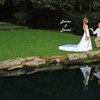 Ceremony, Flowers & Decor, Wedding Dresses, Fashion, pink, green, dress, Bride, Groom, And