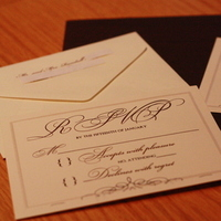Stationery, Paper, white, brown, gold, Invitations, Monogram, Seal, Cream, Wax