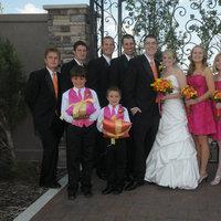 Inspiration, Reception, Flowers & Decor, Bridesmaids, Bridesmaids Dresses, Wedding Dresses, Fashion, white, yellow, orange, pink, dress, Bridesmaid Bouquets, Flowers, Wedding, Party, Board, Flower Wedding Dresses