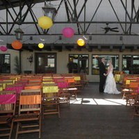 Ceremony, Reception, Flowers & Decor, yellow, orange, pink