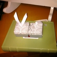 Favors & Gifts, silver, favor, Damask, Boxes