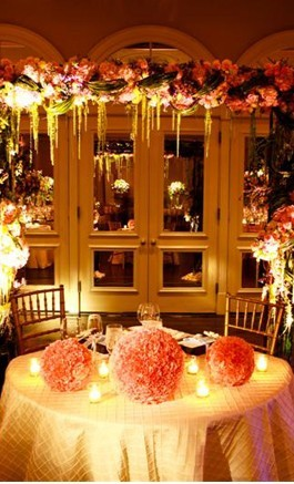 DIY, Reception, Flowers & Decor, pink, gold, Centerpieces, Flowers, Centerpiece, Table, Birds, Love, Budget
