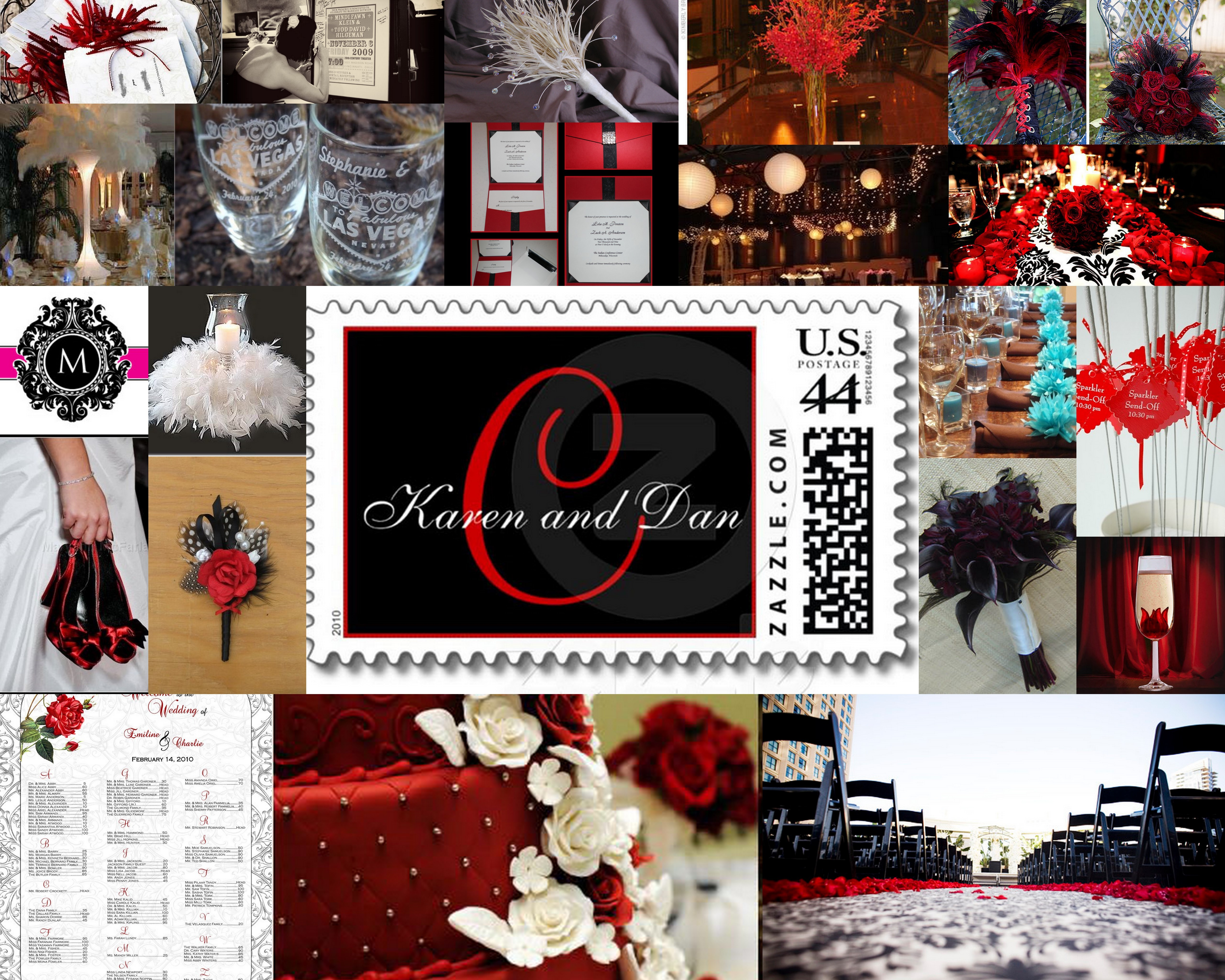 red, black, Inspiration board
