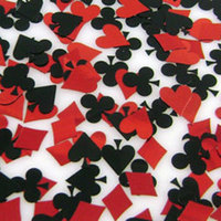 red, black, Cards, Vegas, Confetti, Poker