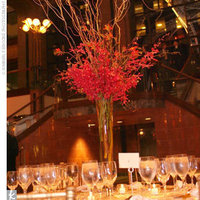 Reception, Flowers & Decor, red, Centerpieces, Centerpiece, Tablescape