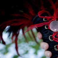 Flowers & Decor, red, black, Bride Bouquets, Flowers, Bouquet, Wrap