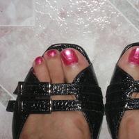 Shoes, Fashion, pink, black