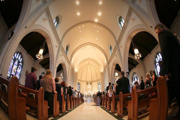 Ceremony, Flowers & Decor, Of, Church, St, Avila, Teresa