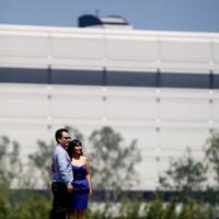 blue, La, Engagement, Los, Angeles, Downtown