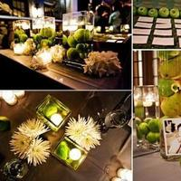 Inspiration, Reception, Flowers & Decor, green, Board
