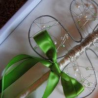 Ceremony, Flowers & Decor, white, green, silver, Flower, Girl, Wand