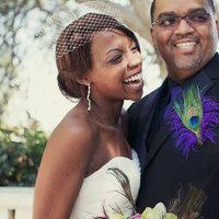Ceremony, Flowers & Decor, Wedding Dresses, Fashion, purple, green, dress, Ceremony Flowers, Flowers, Flower Wedding Dresses