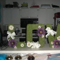Inspiration, Reception, Flowers & Decor, white, purple, green, Board