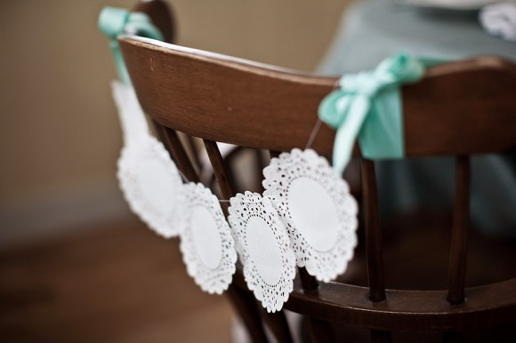 Ceremony, DIY, Reception, Flowers & Decor, Doily