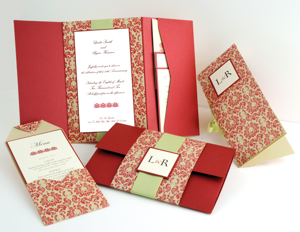 Stationery, Paper, white, red, green, gold, invitation, Invitations, Envelope, Card, Pocket, Slip