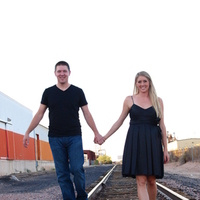 black, Engagement, Train tracks