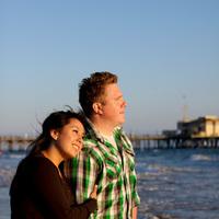 Photography, Engagement, Monica, santa