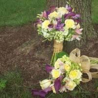 Ceremony, Flowers & Decor, Bridesmaids, Bridesmaids Dresses, Fashion, yellow, purple, Ceremony Flowers, Bride Bouquets, Bridesmaid Bouquets, Flowers, Brides, Bouquets, Flower Wedding Dresses