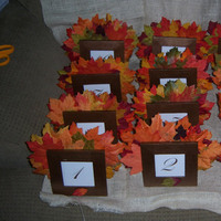 Reception, Flowers & Decor, yellow, orange, red, green, brown, gold