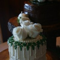 Cakes, blue, brown, cake, Rustic