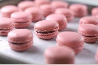pink, Macarons, Other wedding cakes