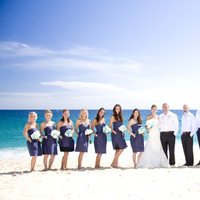 Bridesmaids, Bridesmaids Dresses, Beach Wedding Dresses, Destinations, Fashion, blue, Mexico, Beach, Groomsman, Cabo