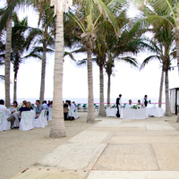 Reception, Flowers & Decor, Destinations, Mexico, Beach, Beach Wedding Flowers & Decor, Cabo