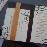 Ceremony, Reception, Flowers & Decor, white, yellow, orange, brown, gold