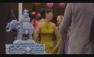 Cakes, blue, cake, Elephant