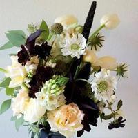 Ceremony, Reception, Flowers & Decor, white, green, black, Ceremony Flowers, Flowers