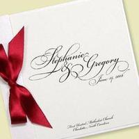Ceremony, Flowers & Decor, Stationery, white, red, black, Invitations