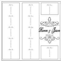 Reception, Flowers & Decor, Stationery, white, black, Invitations