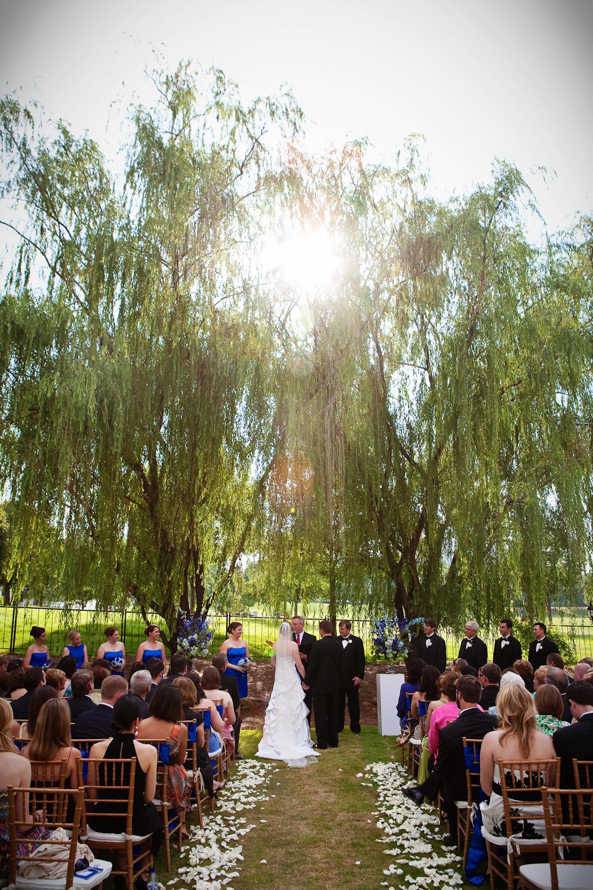 Ceremony, Flowers & Decor, Park, Outside